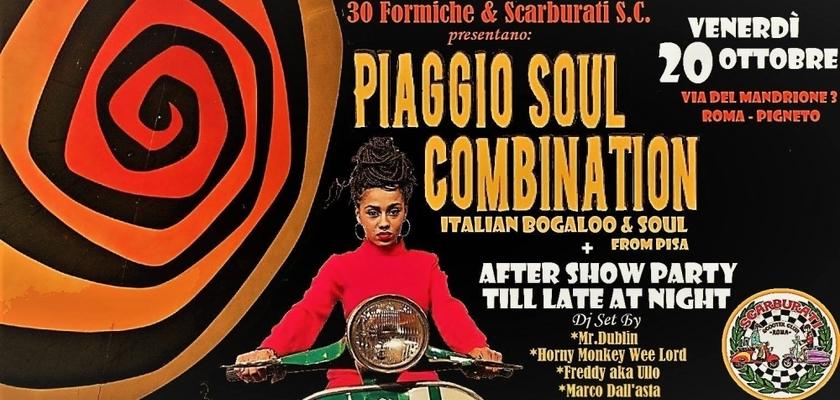Piaggio Soul Combination Live + Scarburati DjSet