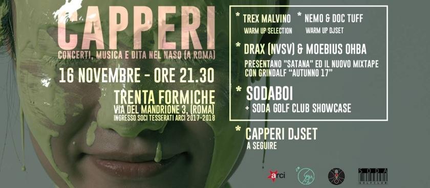 CAPPERI x il Rap: SODABOI + Soda Golf Club
